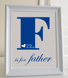 Style: F is for Father