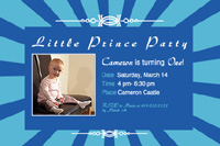 Style: Little Prince Party